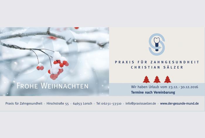 kreativ-fee Karte Referenz Praxis Saelzer Zahnarzt Lorsch_A