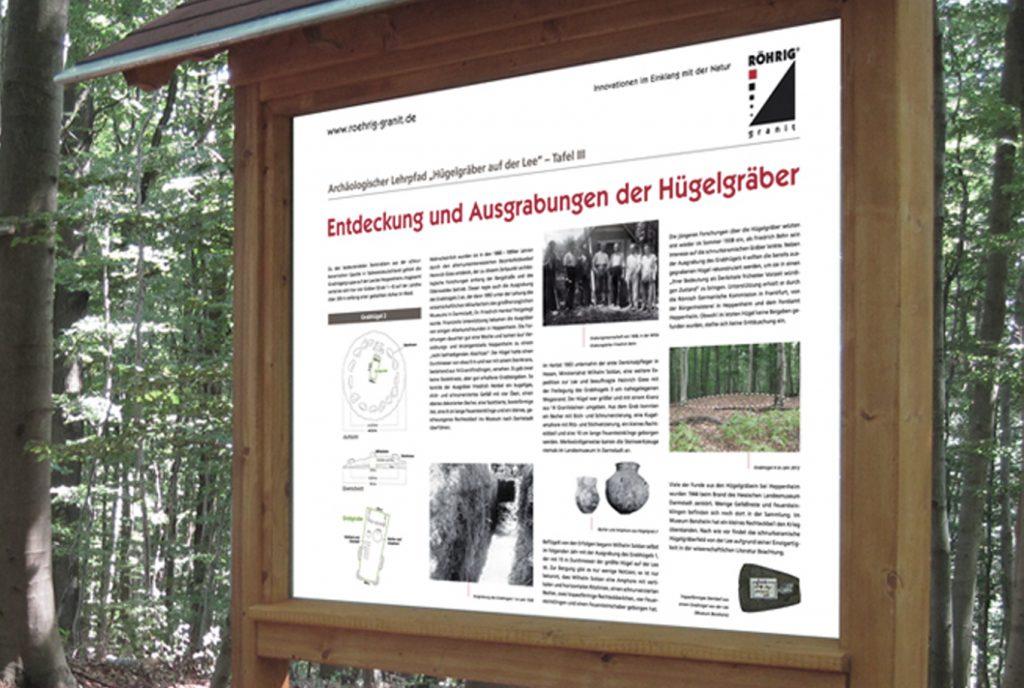Kreativ-Fee_Referenz- Röhrig granitTafel Hügelgräber