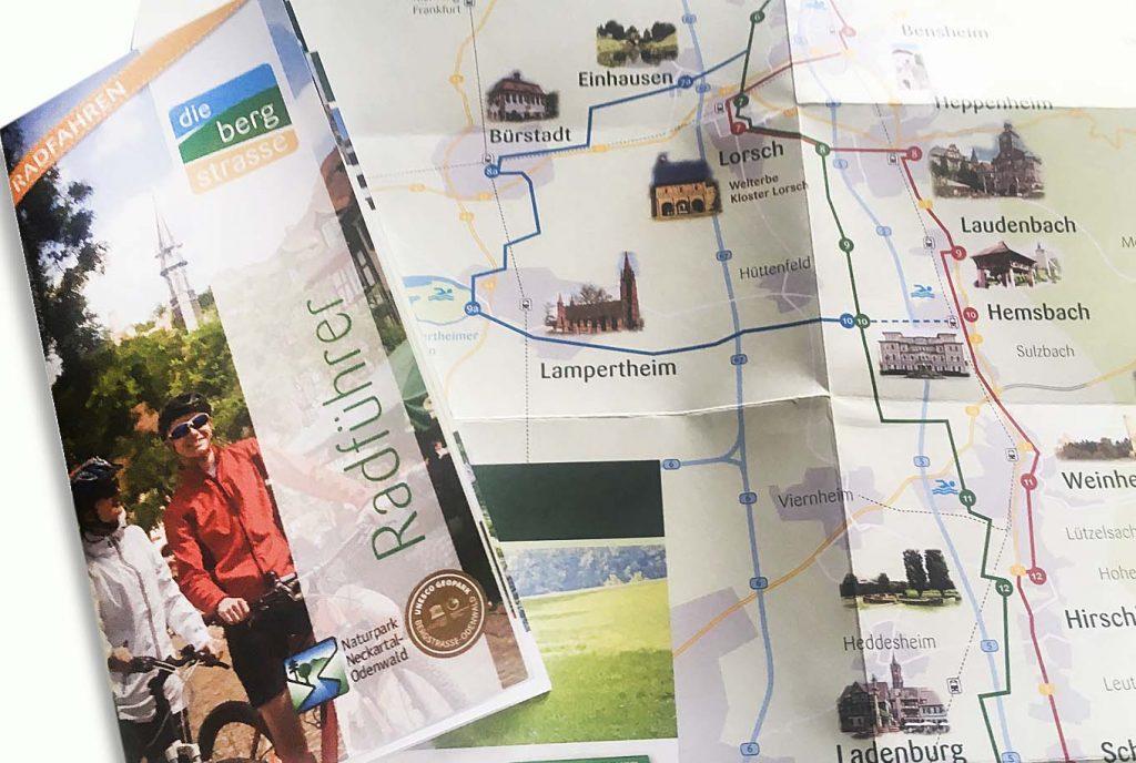 kreativ-fee Karte Referenz die bergstrasse radführer Kopie