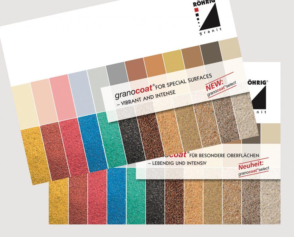 Kreativ-Fee_Kommunikationsdesign_Messestand Roehrig granit_ECS_2017_Broschüre