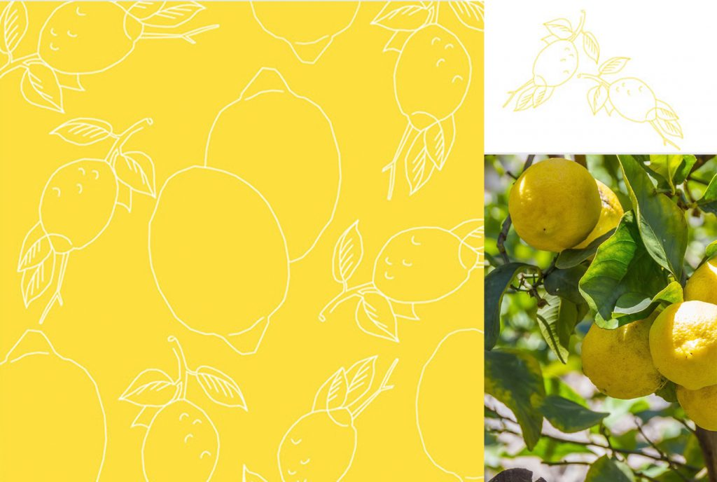 kreativ-fee Referenz Zitronen Illustration