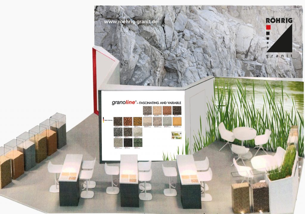 Kreativ-Fee_Kommunikationsdesign_Messestand Roehrig granit_Modell_F_A