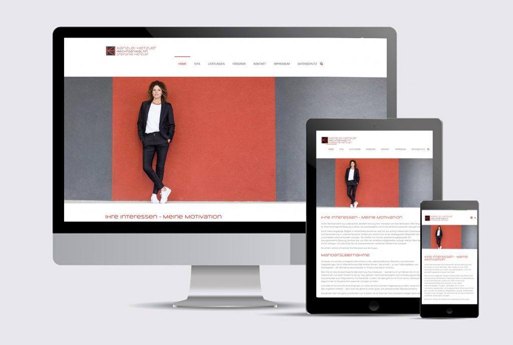 Kreativ-Fee_Referenz-Stefanie Hetzler Rechtsanwaeltin-Website