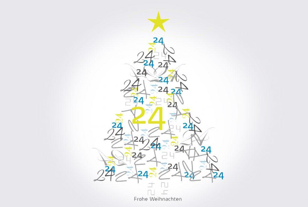 kreativ-fee ReferenzModule24 Weihnachtskarte Tannenbaum