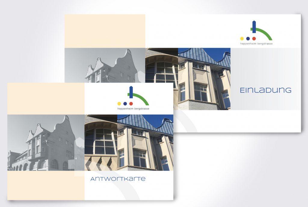 _kreativ-fee Referenz Magistrat Heppenheim Stadthaus Einladung